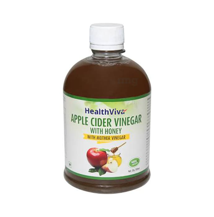 HealthViva Apple Cider Vinegar with Honey and Mother Vinegar