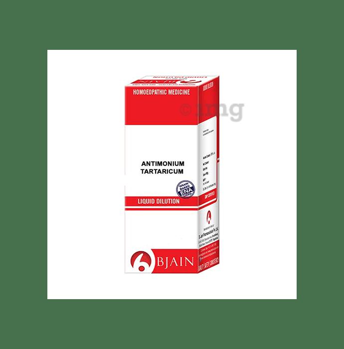 Bjain Antimonium Tartaricum Dilution 1000 CH