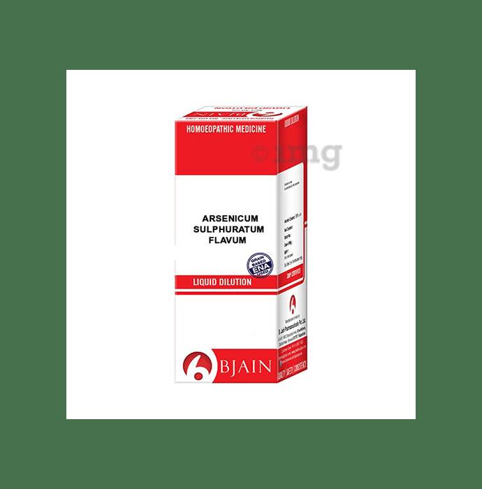 Bjain Arsenicum Sulphuratum Flavum Dilution 10M CH