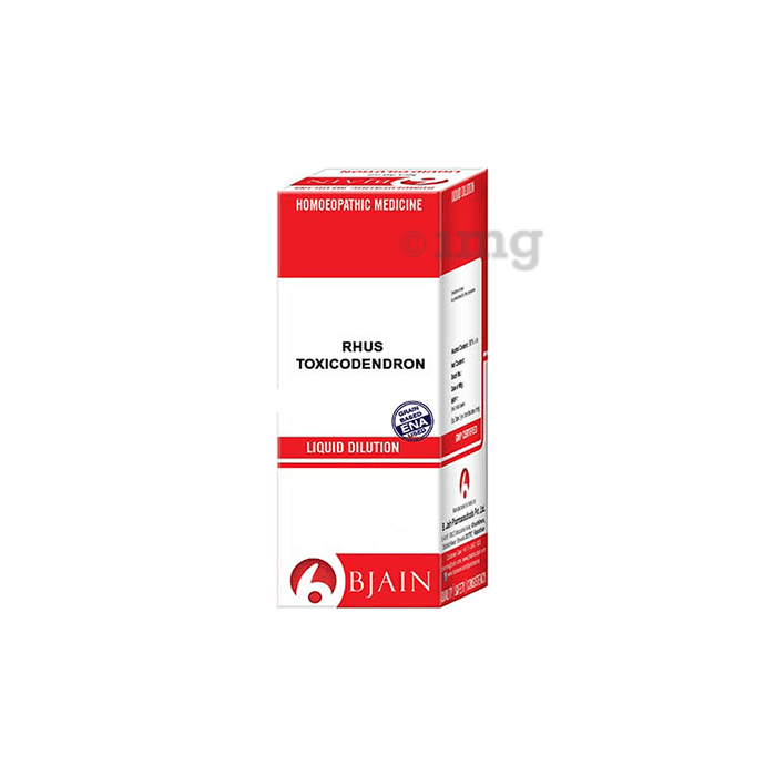 Bjain Rhus Toxicodendron Dilution 50M CH