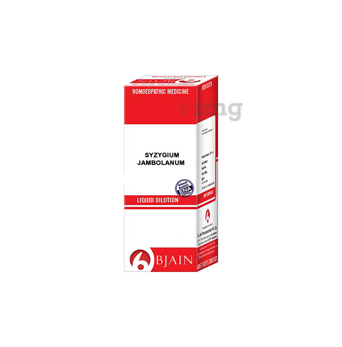 Bjain Syzygium Jambolanum Dilution 30 CH