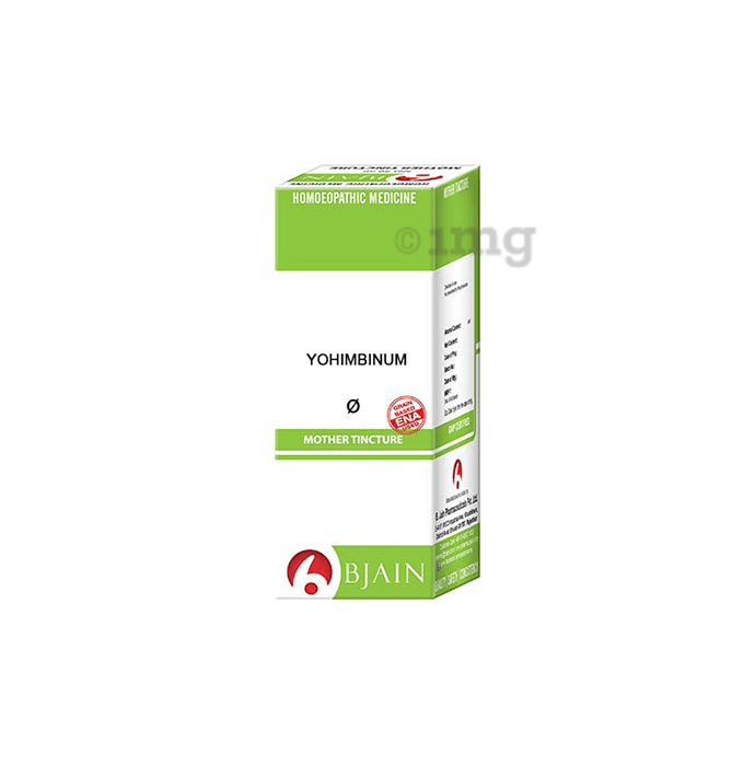 Bjain Yohimbinum Mother Tincture Q