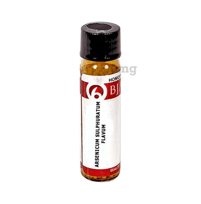 Bjain Arsenicum Sulphuratum Flavum Globules 30 CH