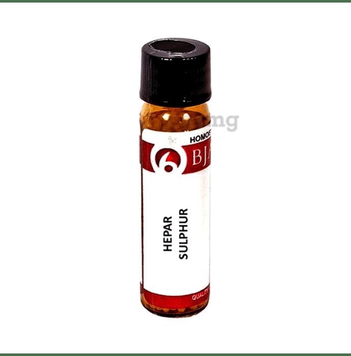 Bjain Hepar Sulphur Globules 12 CH