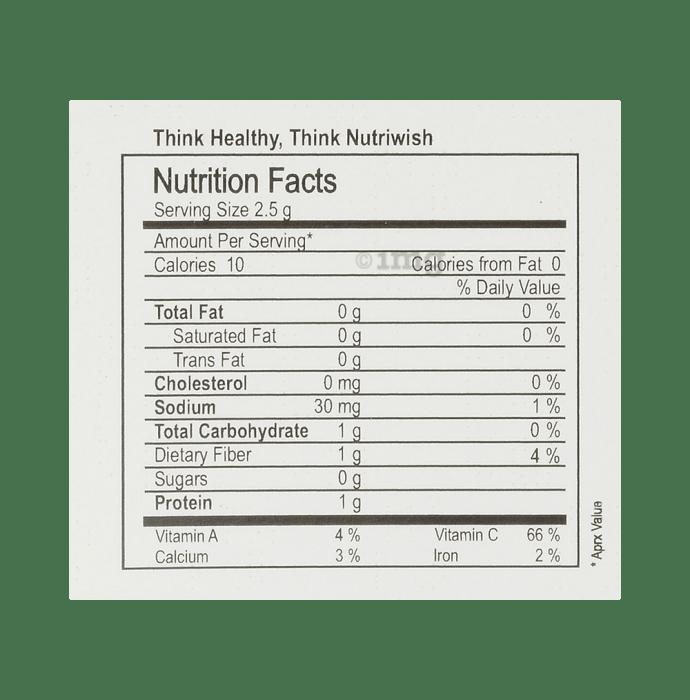 Nutriwish Alfalfa Seeds: Buy packet of