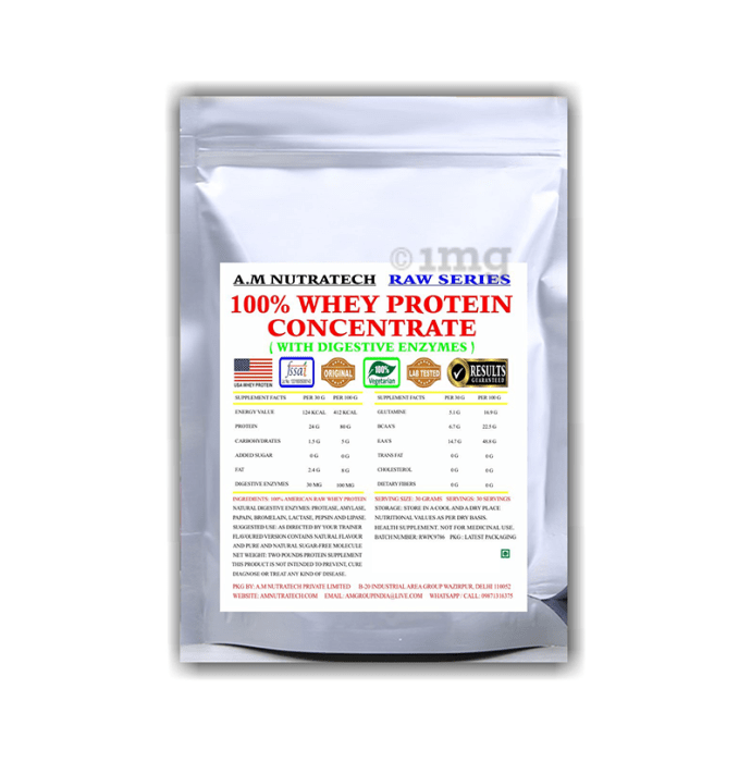 A.M Nutratech 100% Whey Protein Concentrate