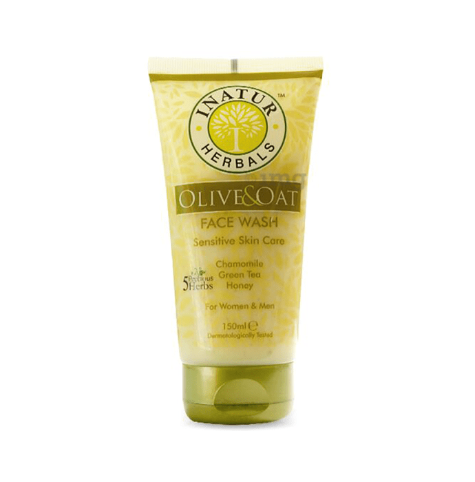 Inatur Herbals Face Wash Olive and Oat