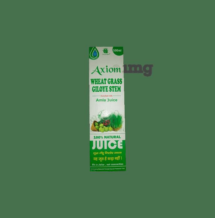 Axiom Wheat Grass Giloye Stem  Juice