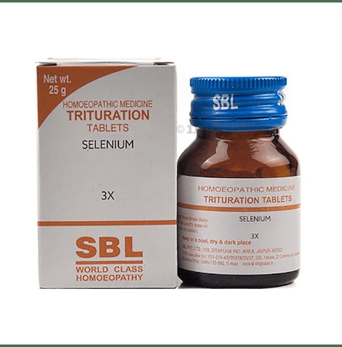 SBL Selenium Trituration Tablet 3X