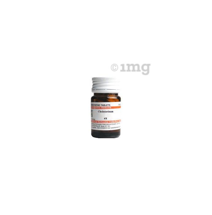 Dr Willmar Schwabe India Cholesterinum Trituration Tablet 6X
