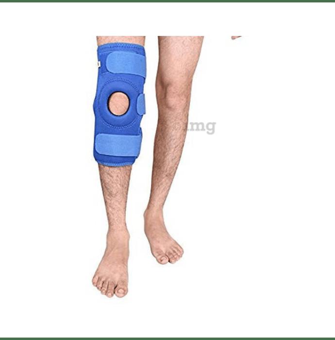 Medtrix Functional Open Patella Hinge Knee Support XXL Blue