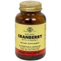 Solgar Natural Cranberry with Vitamin C Vegetable Capsule