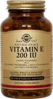 Solgar Vitamin E 200IU Vegetarian Sofgels
