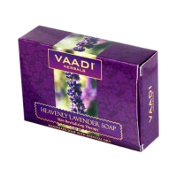 Bath & Body Vaadi Herbals Heavenly Lavender Soap With Rosemary Extract 75gm Pack Of 6 Bar Soaps