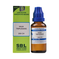 SBL Naja Tripudians Dilution 200 CH