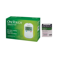OneTouch Select Simple Device (Box of 10 Test strips Free)