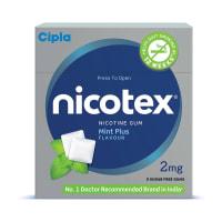 Nicotex 2mg Chewing Gums Mint Plus Sugar Free
