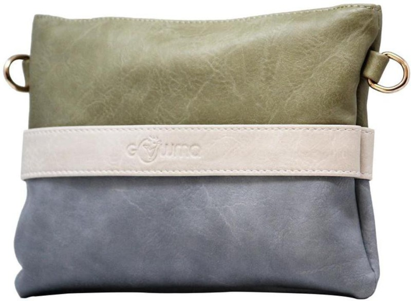 Green, Blue, Beige Women Sling Bag Price in India