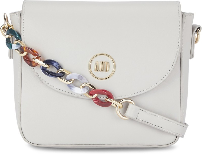Women Beige Sling Bag Price in India