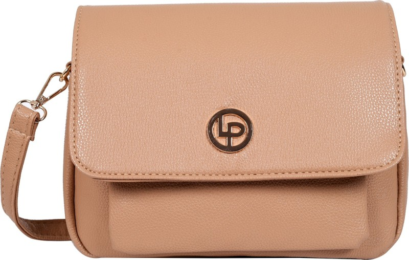 Beige Women Sling Bag Price in India