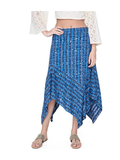 Global Desi Indigo Printed Skirt Price in India