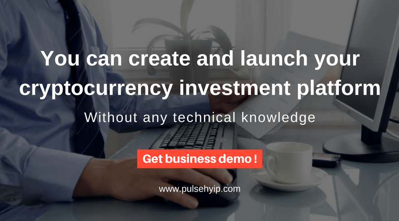 You can setup your trusted bitcoin investment business website without technical knowledge