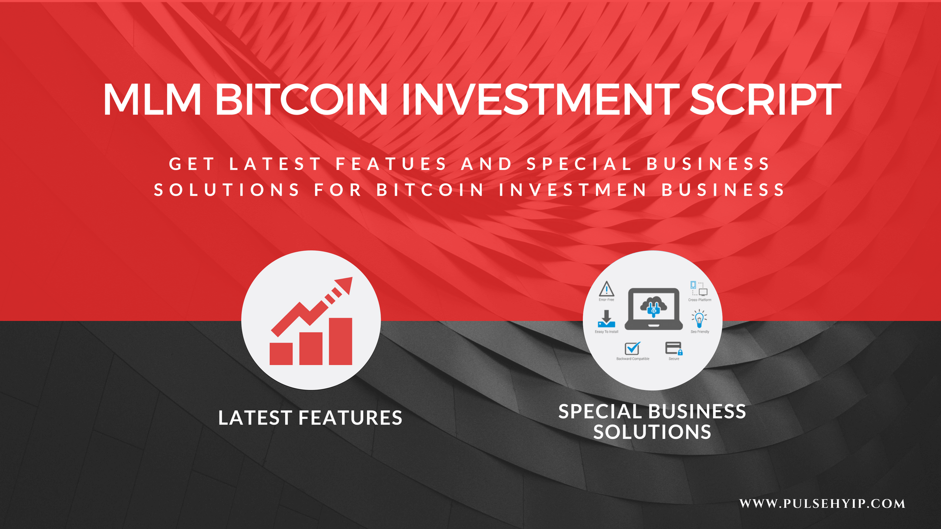 Special features and business solutions of MLM bitcoin investment script software