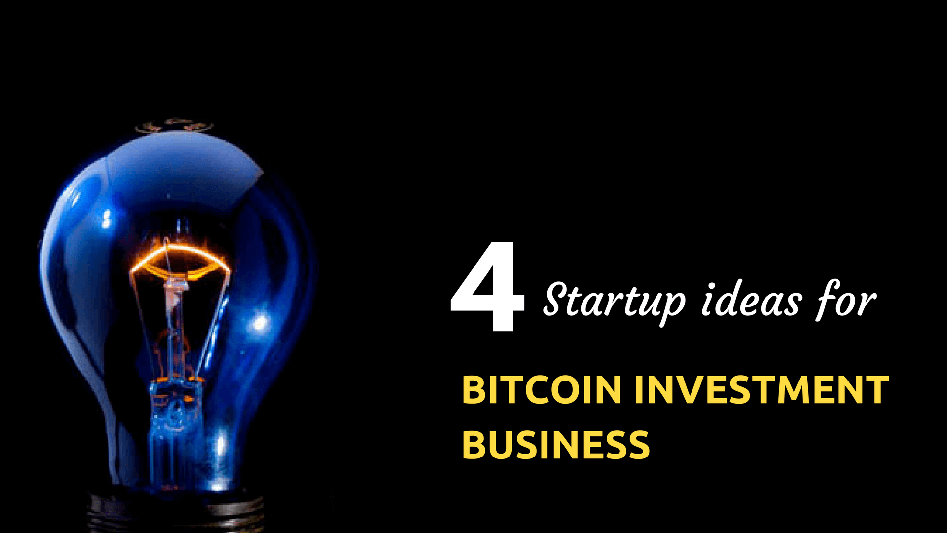 How to Come Up With an Idea to Start HYIP cryptocurrency investment Business successfully?