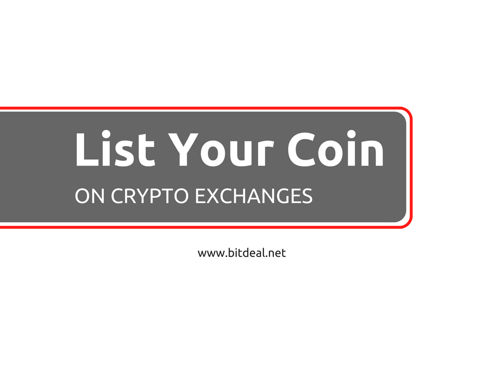 How to list your cryptocurrency on exchange websites