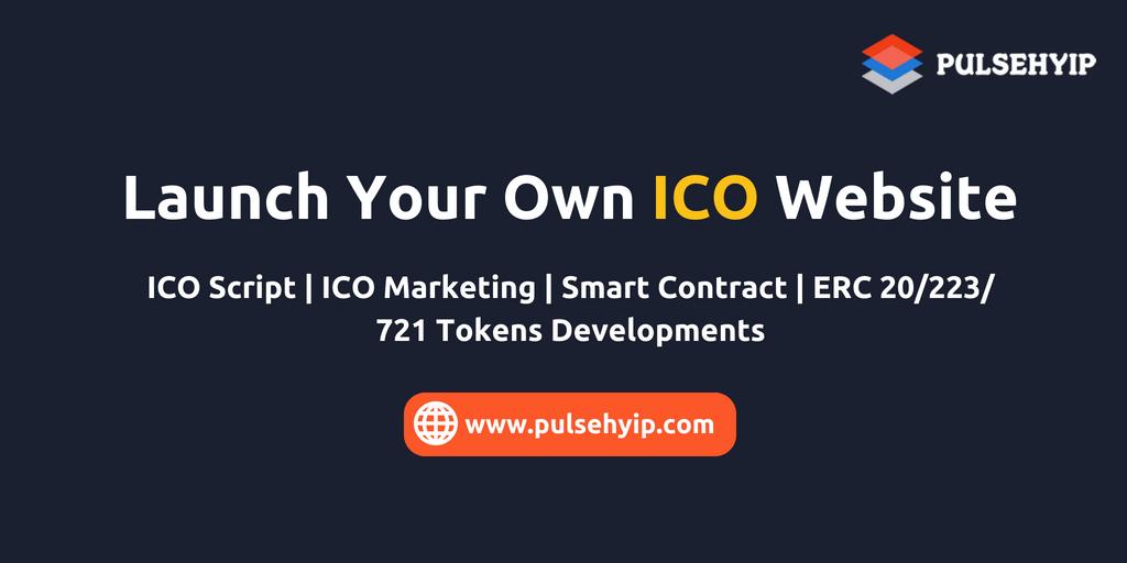 ICO Script | ICO Software | ICO Crowdsale Script | Launch