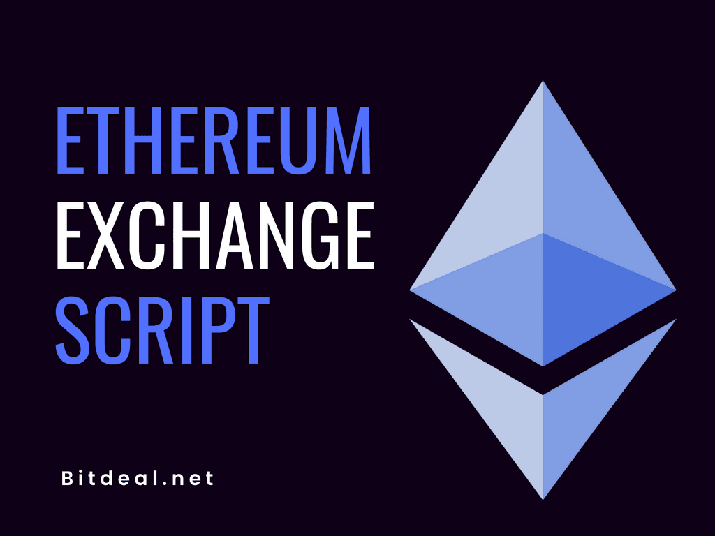 Ethereum Exchange Script to start your own ETH exchange website