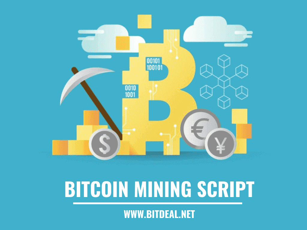 Bitcoin and Cryptocurrency Mining Script