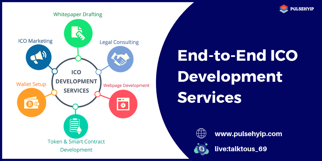 Get End-to-End ICO Development Services From Pulsehyip