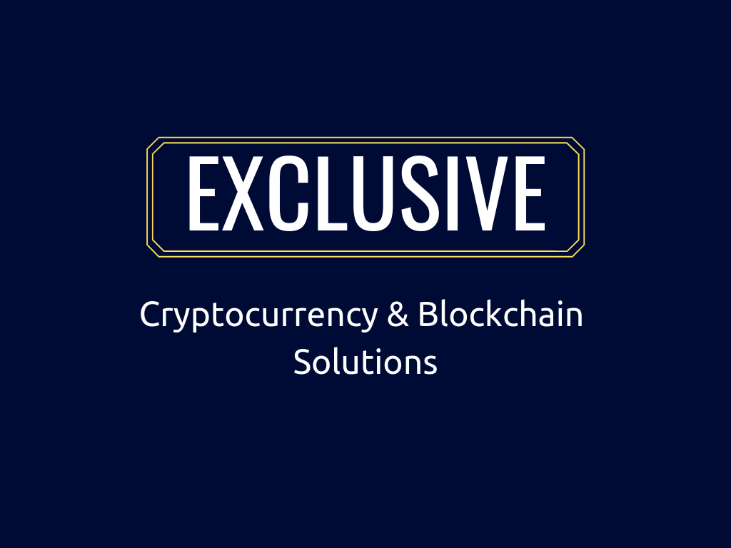 Full Featured Cryptocurrency, Blockchain Business Plans &  Solutions