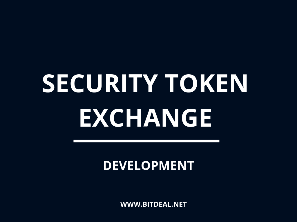 Security Token Exchange Platform Development