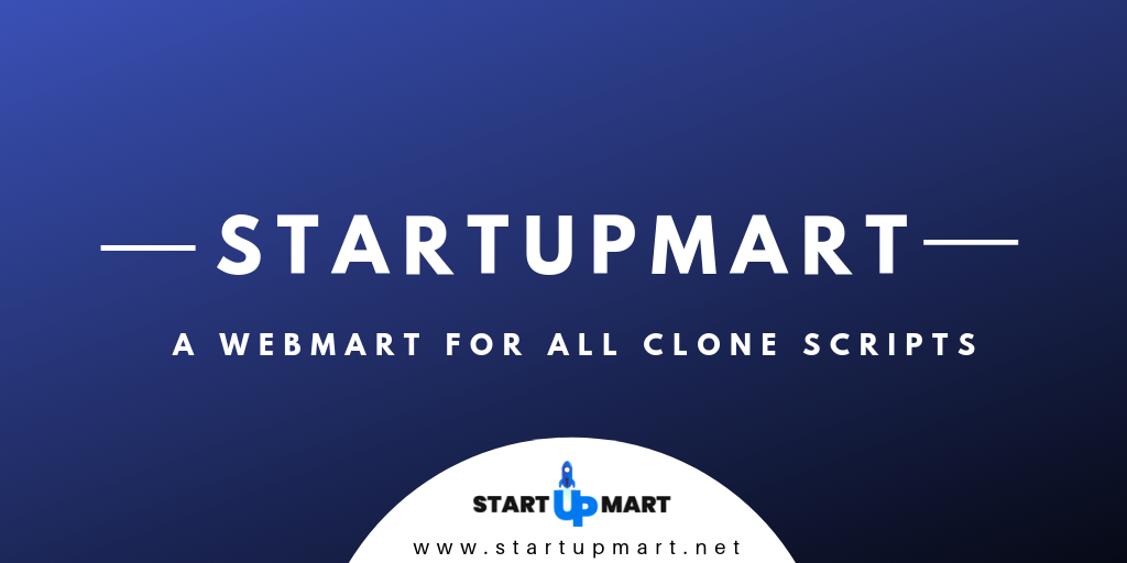 A Webmart for all trending website clone scripts