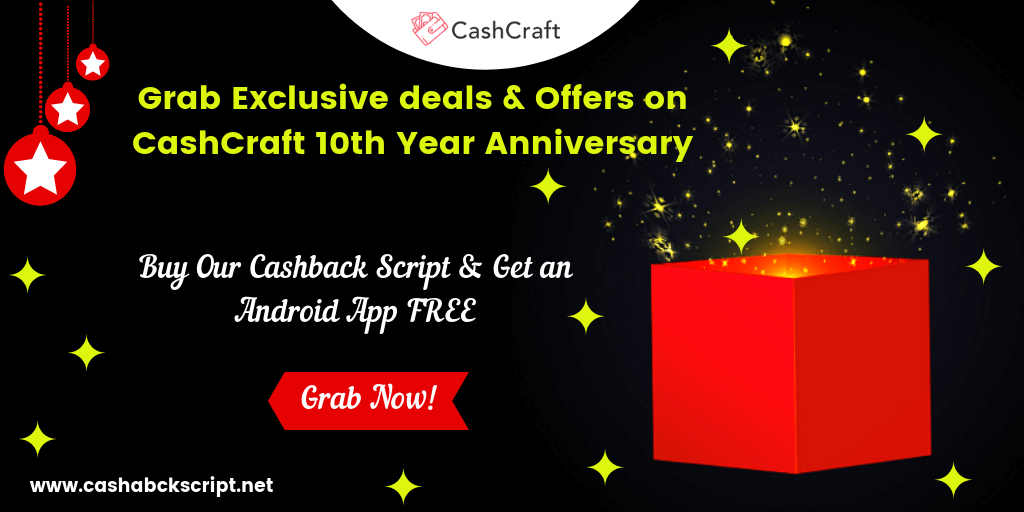 Grab Exclusive Deals & Offers for CashCraft's 10th Year Anniversary