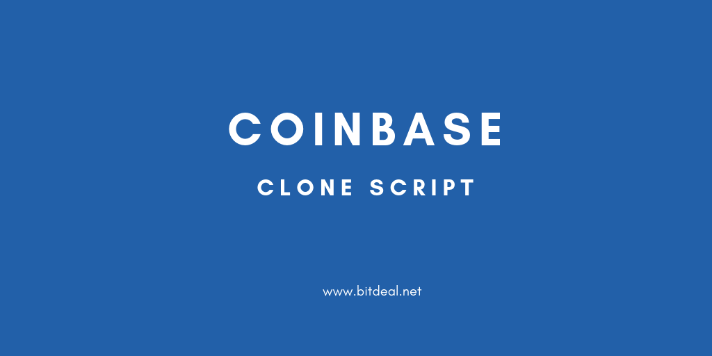 Coinbase Clone Script to start your own crypto exchange like Coinbase.