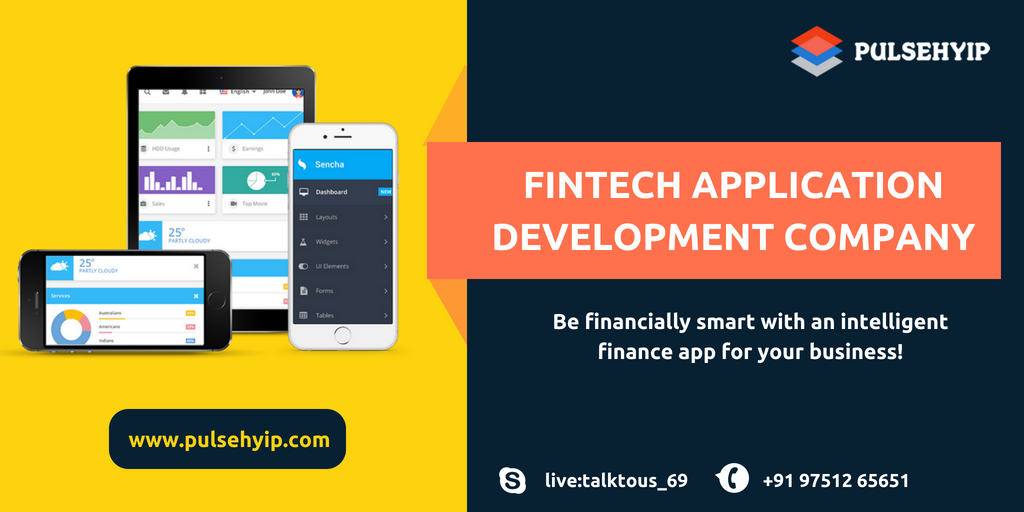 Fintech Applications Development Company in India