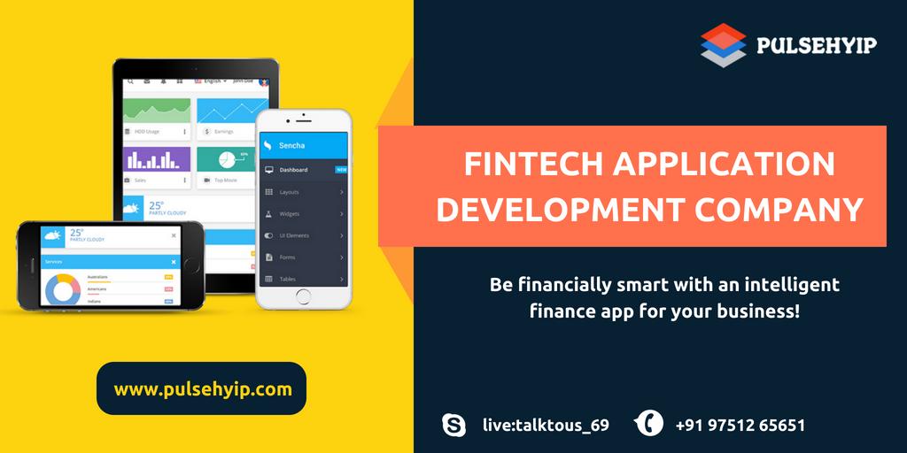 Fintech Applications Development Company in India