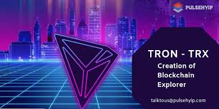 Explorer of Blockchain Tron and its works