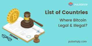 Top 10 Countries Where Cryptocurrency Legal and Illegal