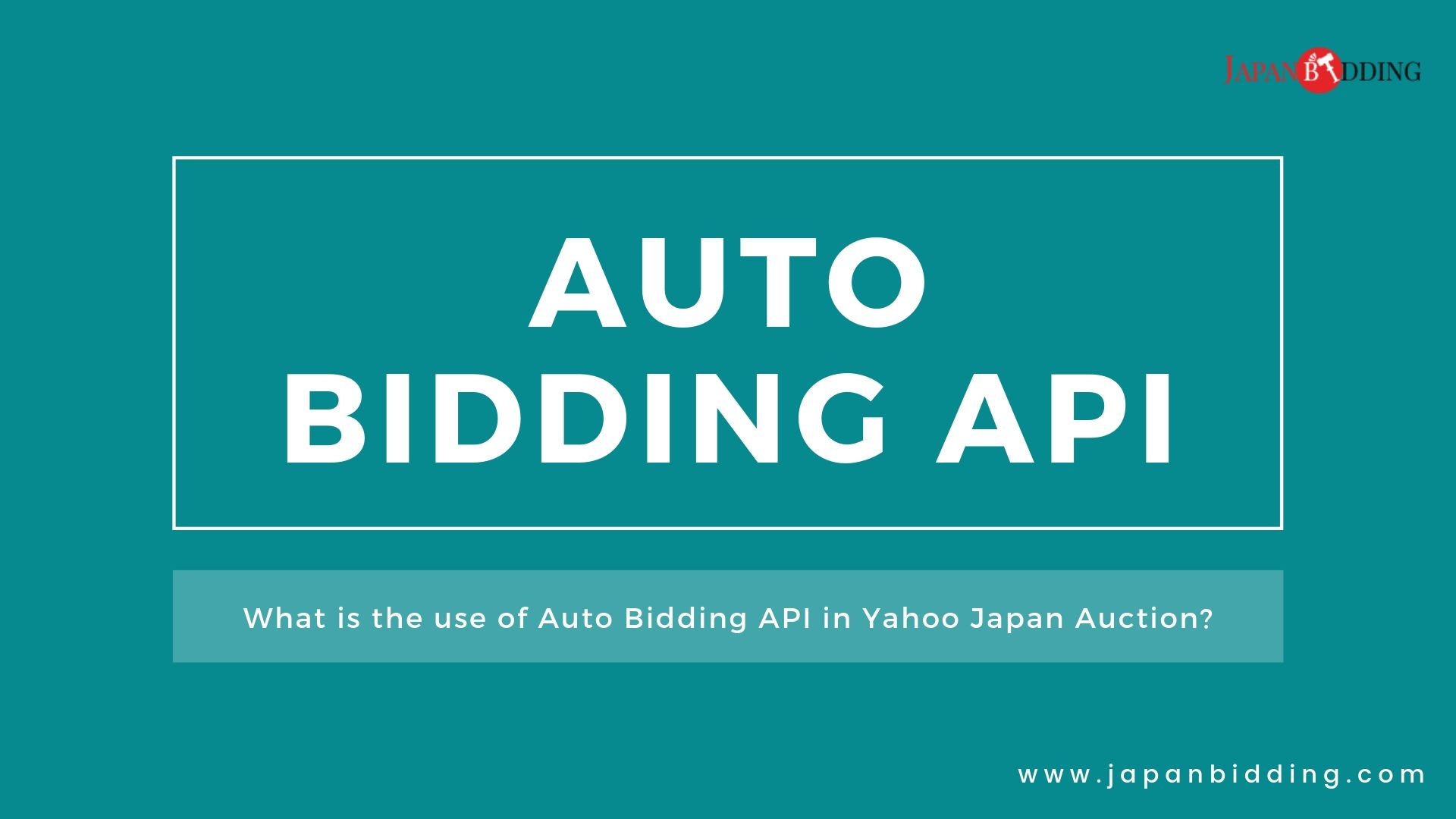 What is the use of Auto Bidding API in Yahoo Auction?