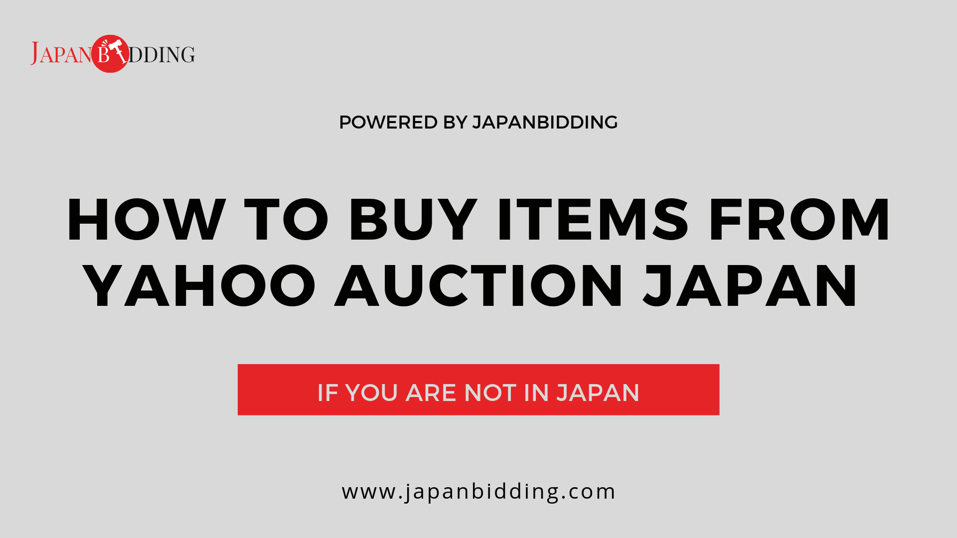 How To Buy Items From Yahoo Auction Japan
