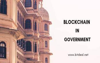 How blockchain technology can modernize government sectors ?