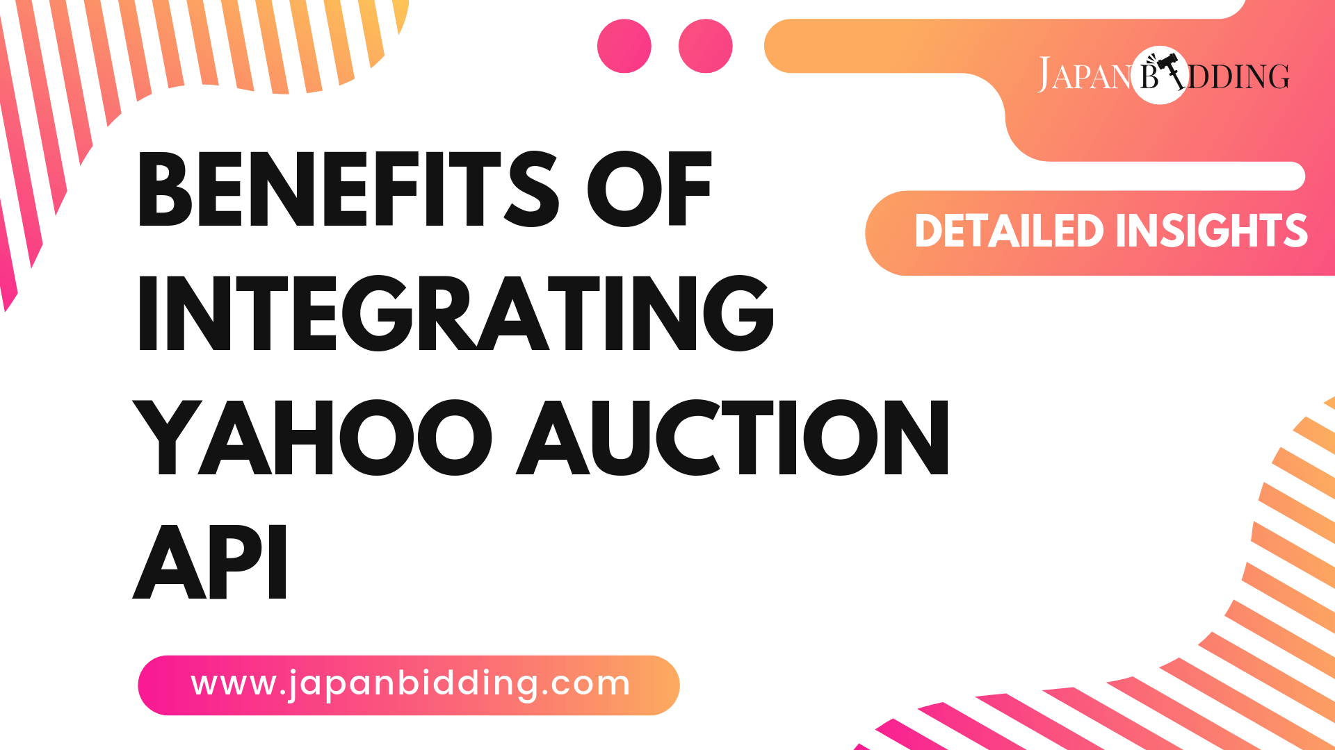 Benefits Of Integrating Yahoo Auction API On Your Online Auction Business