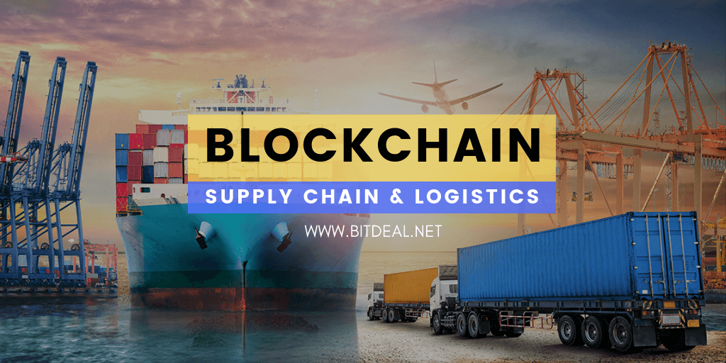 How blockchain can transform supplychain and logistics ?