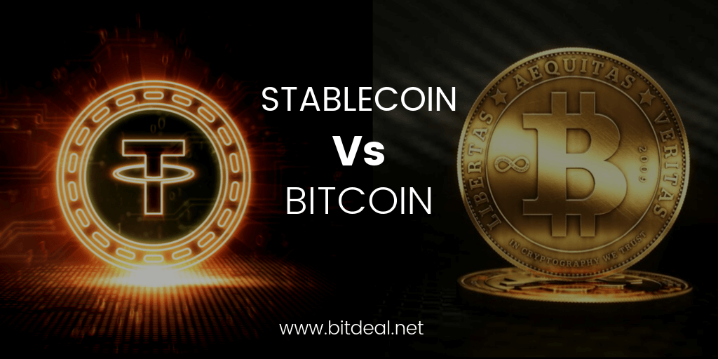 How stablecoins differ from Bitcoins? | Stablecoin Development