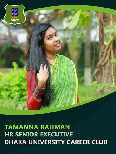 Tamanna Rahman - Senior Executive-Dhaka University Career Club
