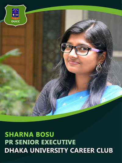 Sharna Bosu - Senior Executive-Dhaka University Career Club